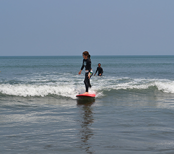 9実技練習サーフィン
